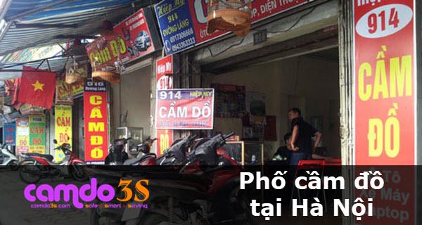 TOP 5 con phố cầm đồ tại Hà Nội nổi tiếng nhất