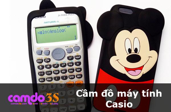 Cầm đồ máy tính Casio giá HẤP DẪN, lãi suất thấp